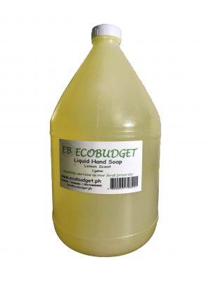Liquid Hand Soap Lemon Scent